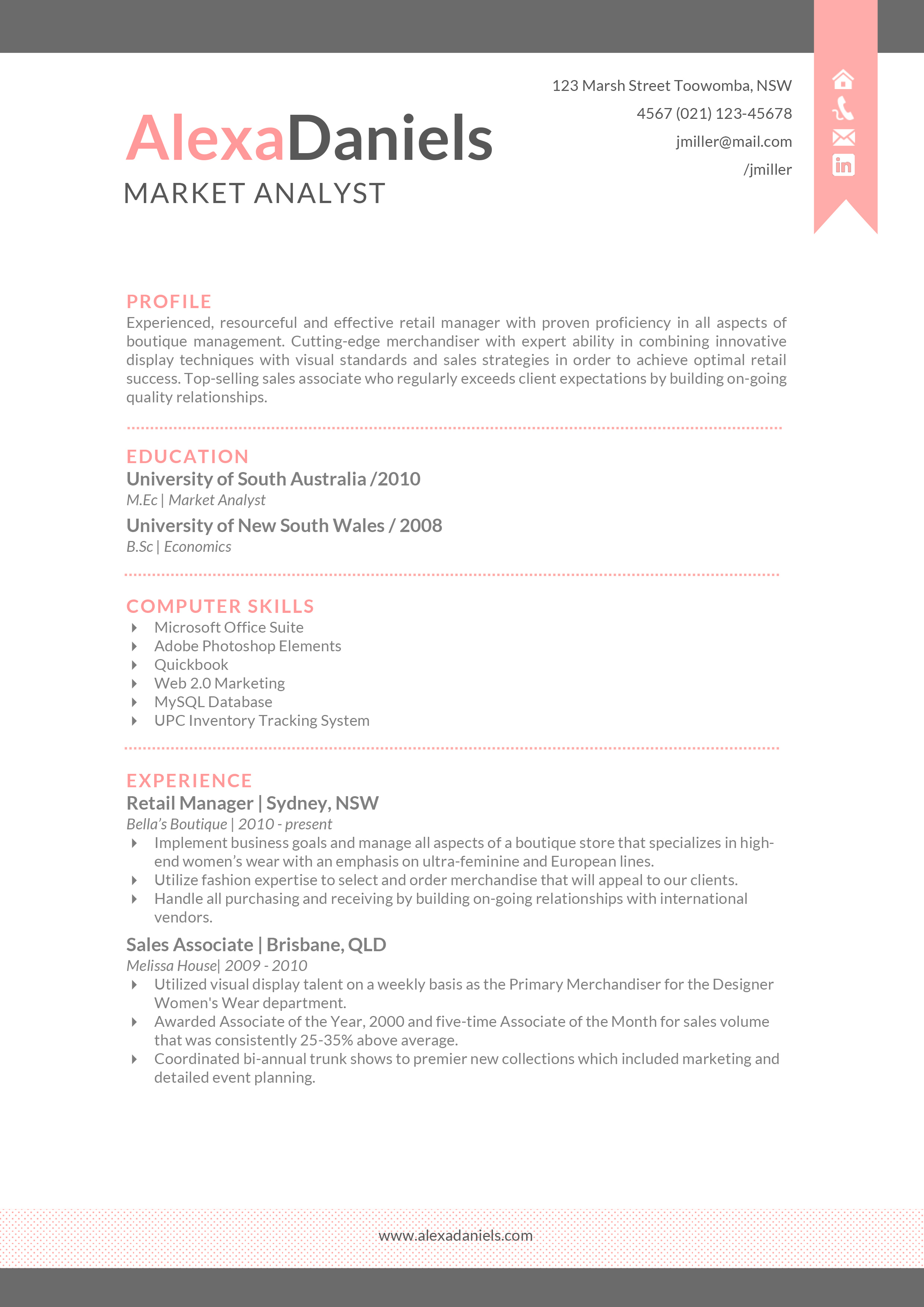 Sample Resume For Sales Lady In Department Store Sales Associate Free Sample  Resumes Templates  Sample Resume Sales Associate
