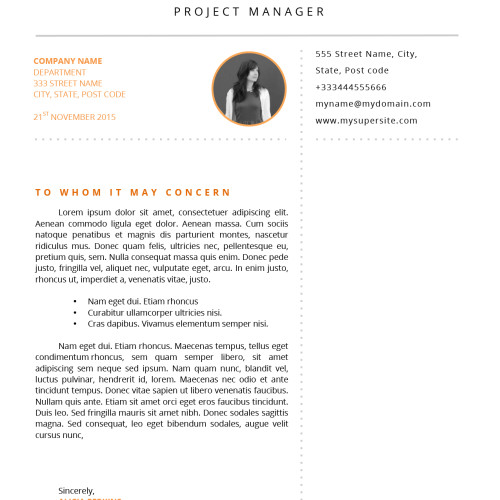 Resume and cover letter for dummy