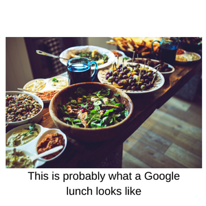 google lunch food