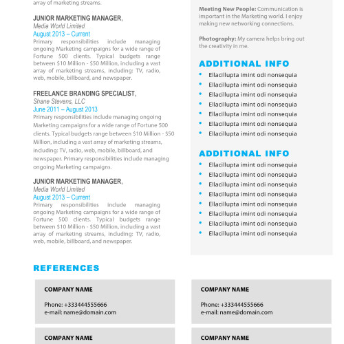 the alexis resume 2 - Mac Pages Resume Templates