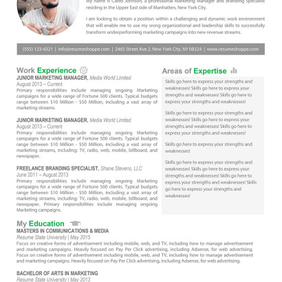 The Caleb Resume Template