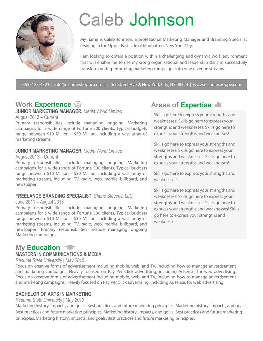 5 reasons everyone should use a creative resume