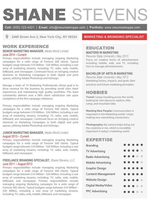 Creative resume templates secure the jobresumeshoppe the shane resume yelopaper Choice Image