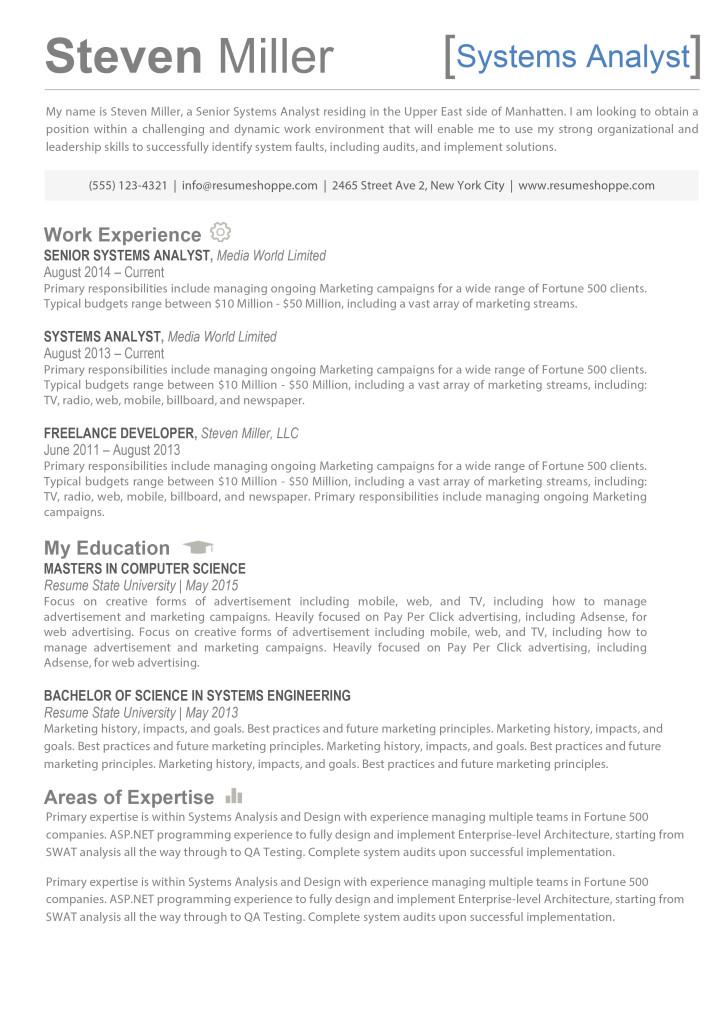 the steven resume