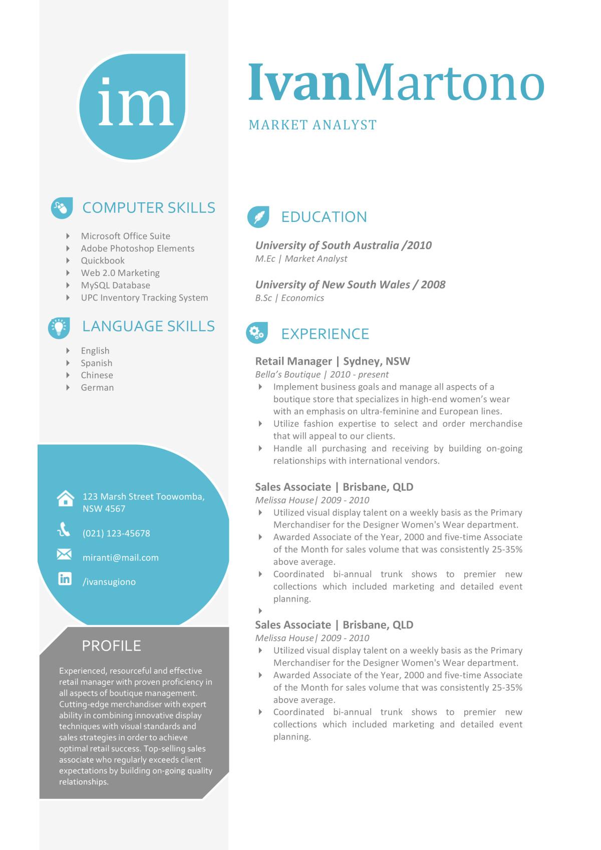 the ivan resume