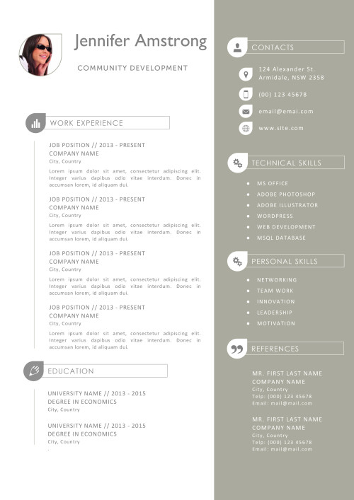 pages resume templates mac jennifer amstrong resume a4 resume