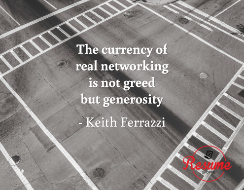 networking quote ferrazzi