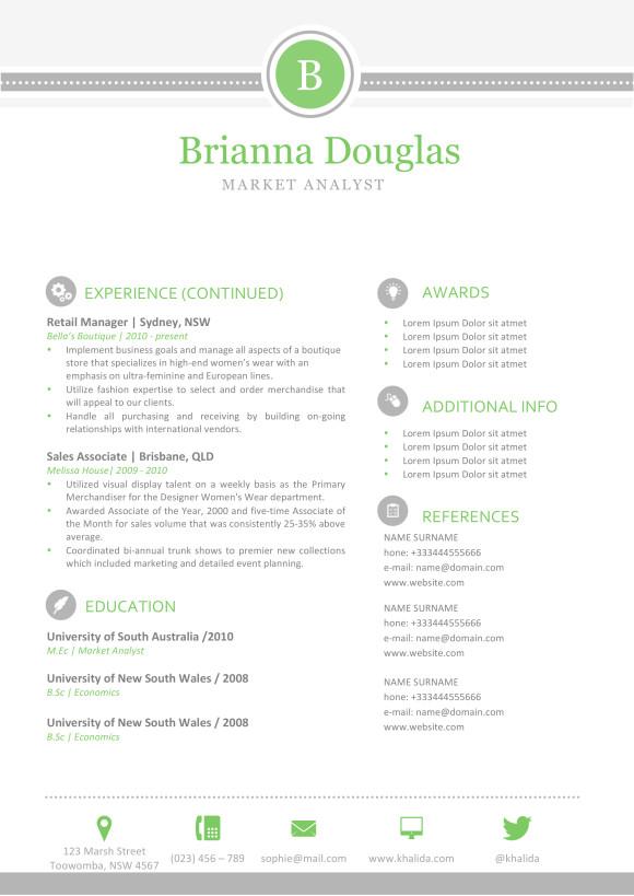 Brianna Douglas Resume 2
