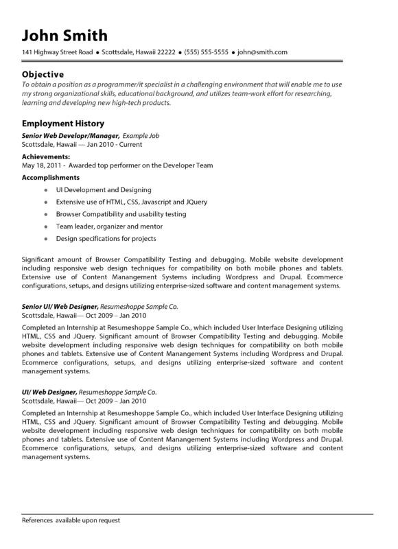 the john resume