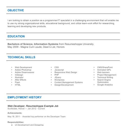 The John Resume 2-1