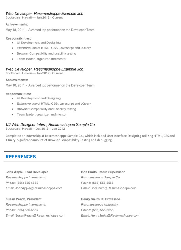 The John Resume 2-2