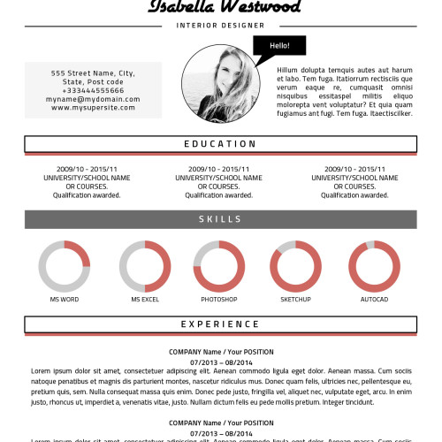 Isabella resume