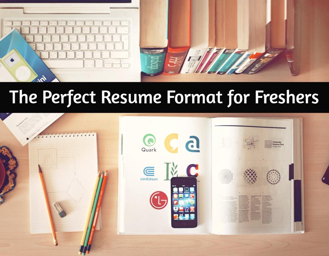 resume format for freshers jpg