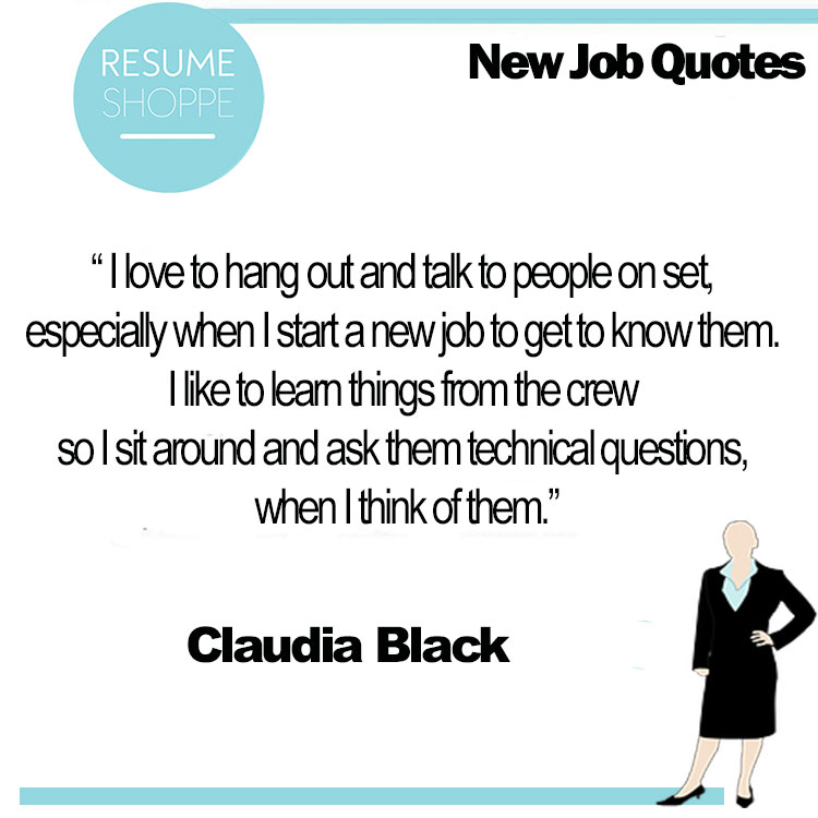 New job quotes