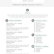 Kylie Anderson Resume Template