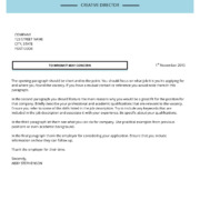 Abby Stephenson minimalist cover letter template