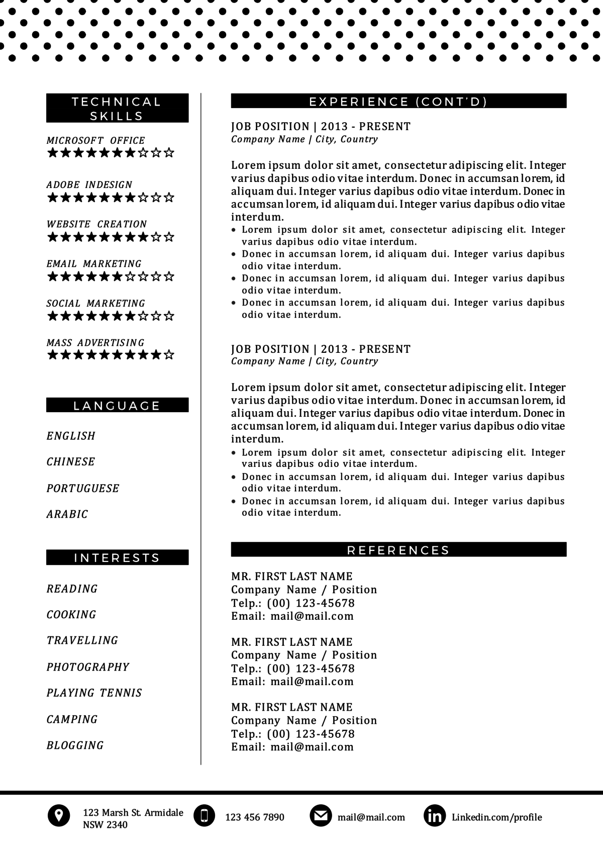 Baker Resume Sample  Baker Resume